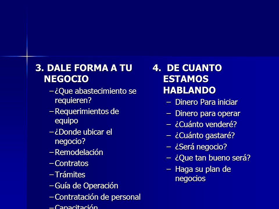 COMPOSICION DEL PLAN DE NEGOCIOS 1.DESCRIPCION GENERAL DEL NEGOCIO 1.1 Naturaleza de la empresa 2.
