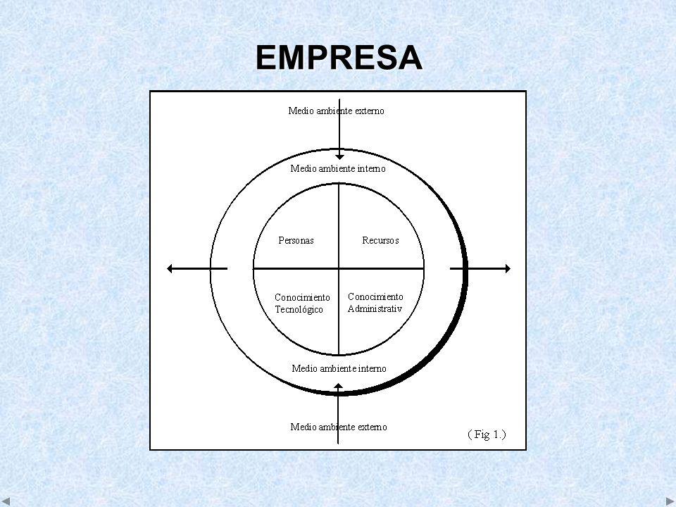 EMPRESA COMO UN SISTEMA ABIERTO (I) Un sistema es un todo unitario organizado, compuesto por dos o más partes, componentes o subsistemas interdependientes y delineados por los límites identificables de su medio ambiente externo o suprasistema.
