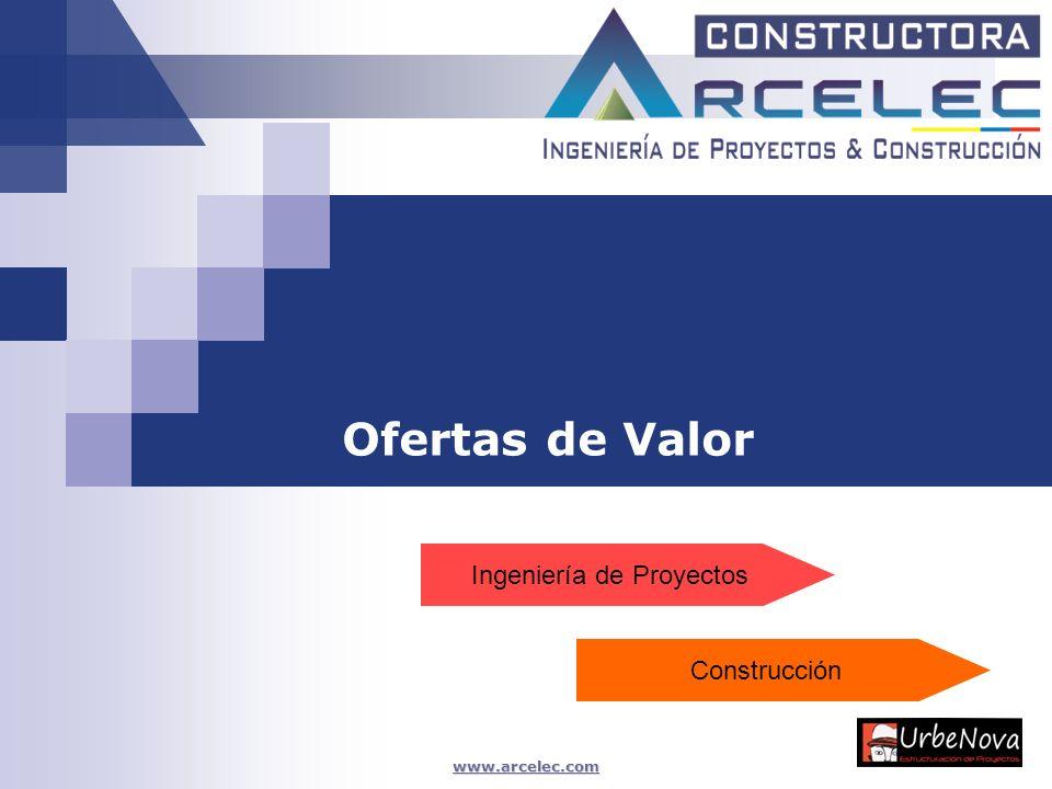 www.arcelec.com Ofertas de Valor Ingeniería de Proyectos Construcción