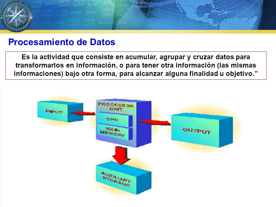 La información es, conocimientos basados en los datos a los cuales, mediante un procesamiento, se les ha dado significado, propósito y utilidad Información, concepto La utilidad neta aumentó un 25% con respecto al año anterior .