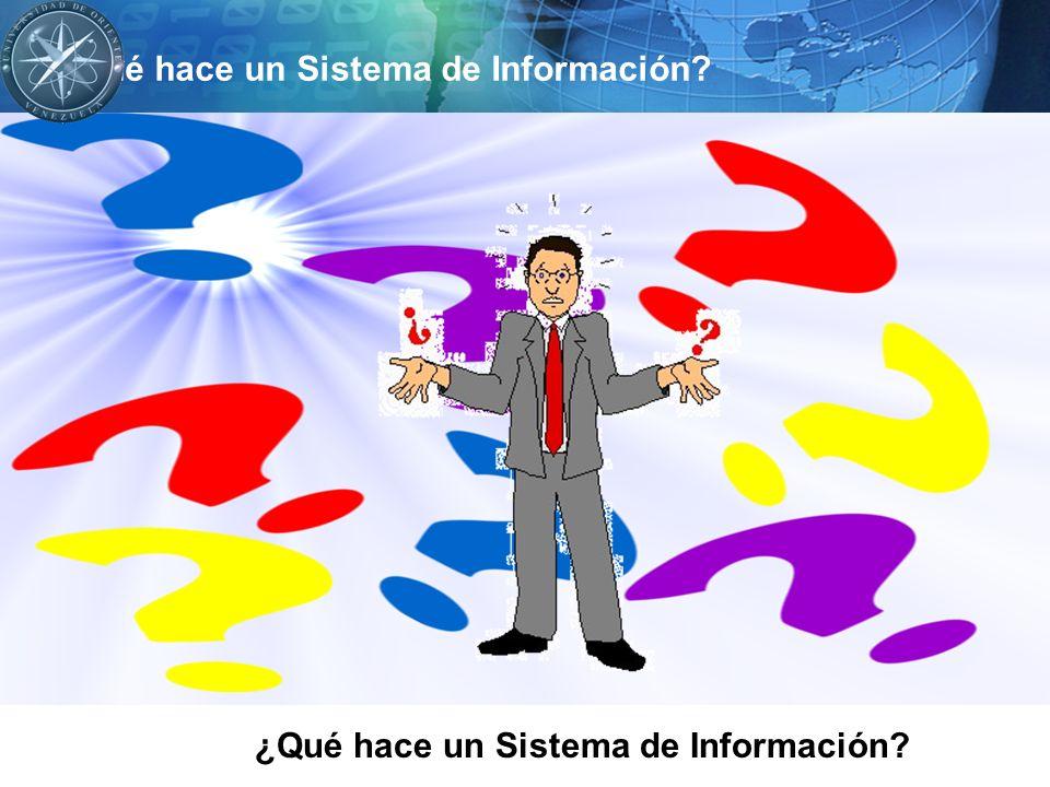 Recibe datos de fuentes internas o externas de la empresa como elementos de entrada.