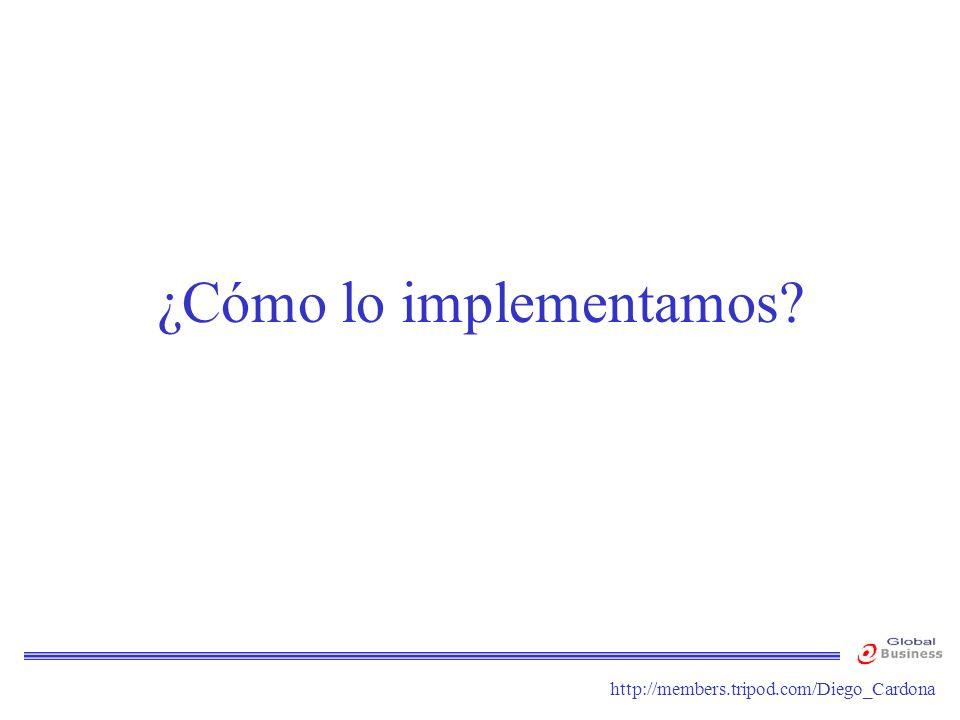 http://members.tripod.com/Diego_Cardona ¿Cómo lo implementamos?