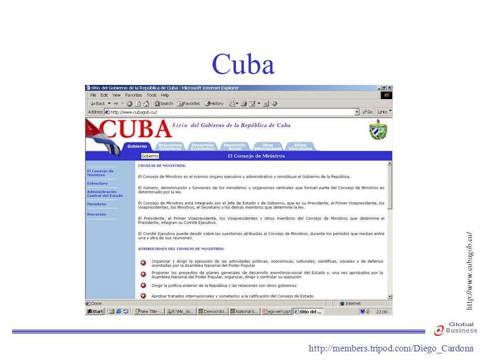 http://members.tripod.com/Diego_Cardona Cuba http://www.cubagob.cu/