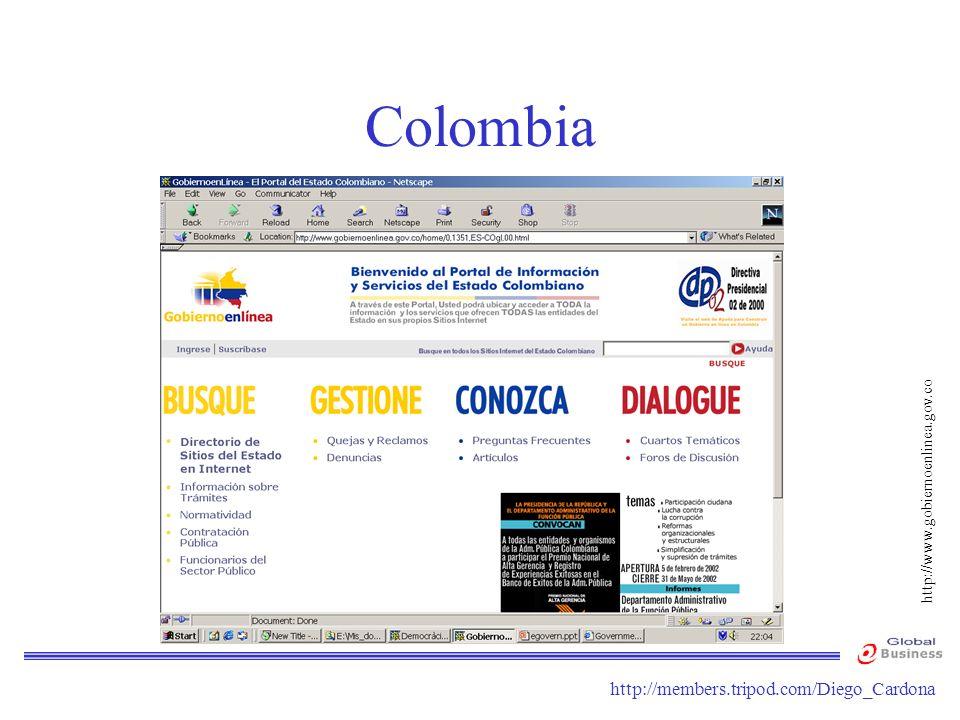 http://members.tripod.com/Diego_Cardona Colombia http://www.gobiernoenlinea.gov.co