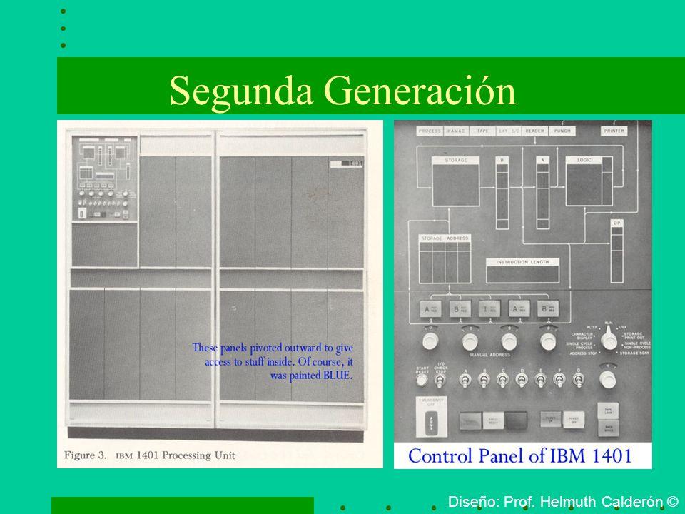 Segunda Generación Diseño: Prof. Helmuth Calderón ©