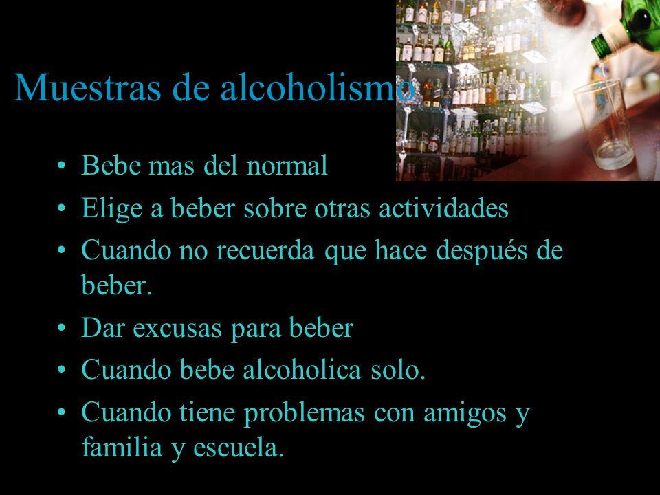 Problemas del alcoholismo; porque es una mala dependencia Los Efectos físicas Los Efectos sociales