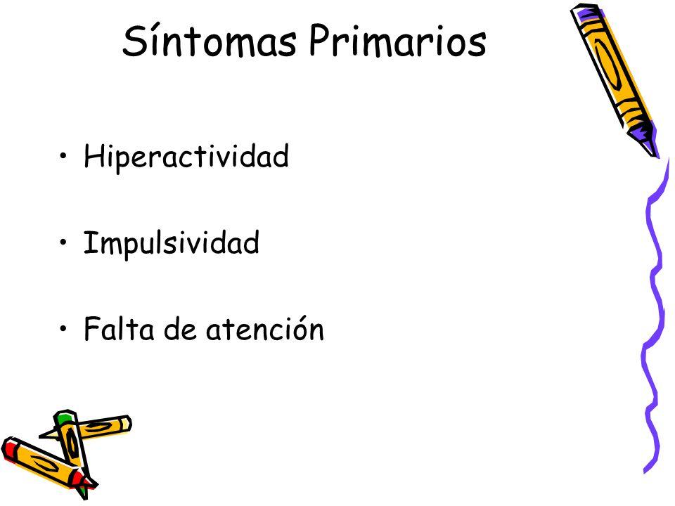 Tratamientos Drogas farmacológicas.Entrenamiento especial para padres y maestros.