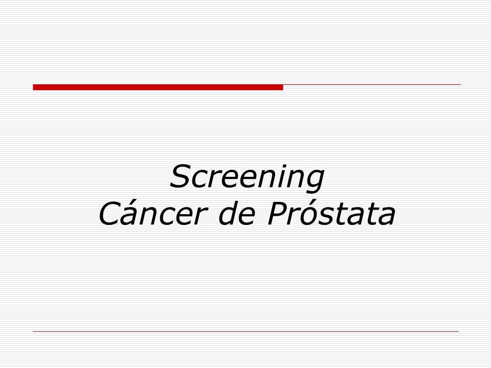 Screening Cáncer de Próstata