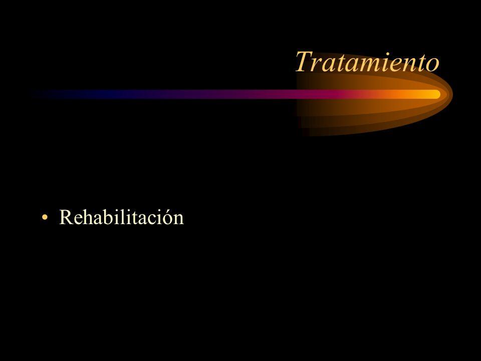 Tratamiento Rehabilitación