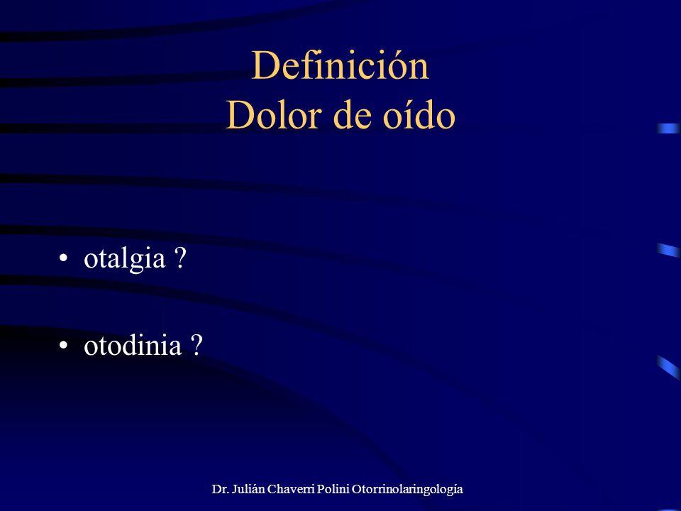 Dr.Julián Chaverri Polini Otorrinolaringología Cuerpos extraños orgánicos: a.