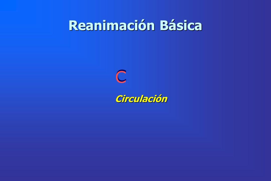 Reanimación Básica Circulación C C