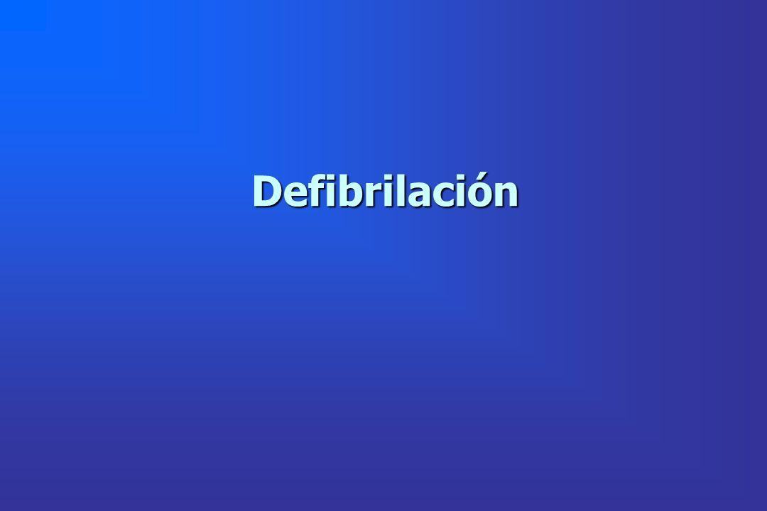 Defibrilación