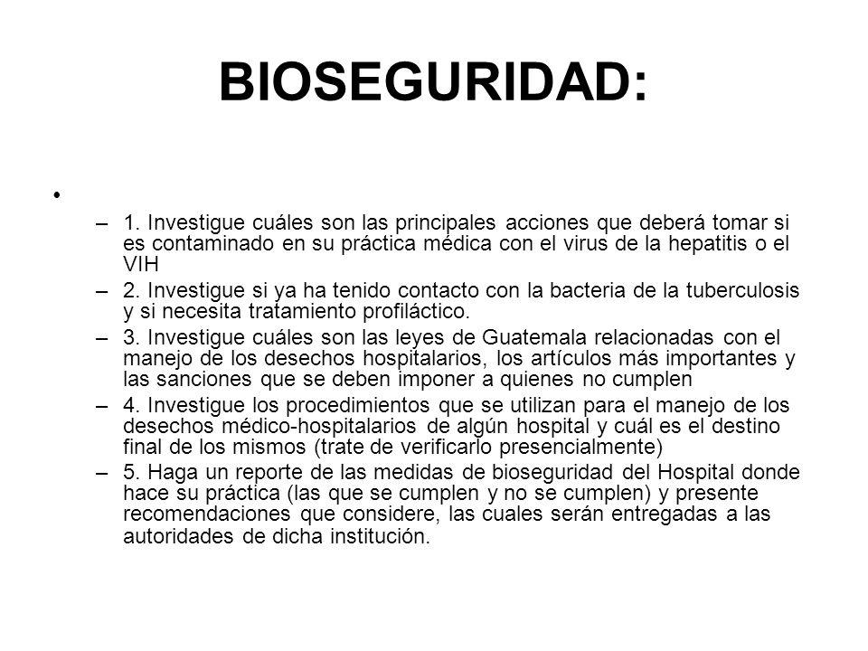 PRECAUCIONES UNIVERSALES Y AISLAMIENTOS HOSPITALARIOS B.