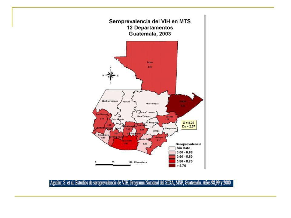 Análisis epidemiológico SIDA: problema de salud pública Grupos de riesgo Feminización de epidemia Grupo etáreo Transmisión sexual Coinfección SIDA/TB