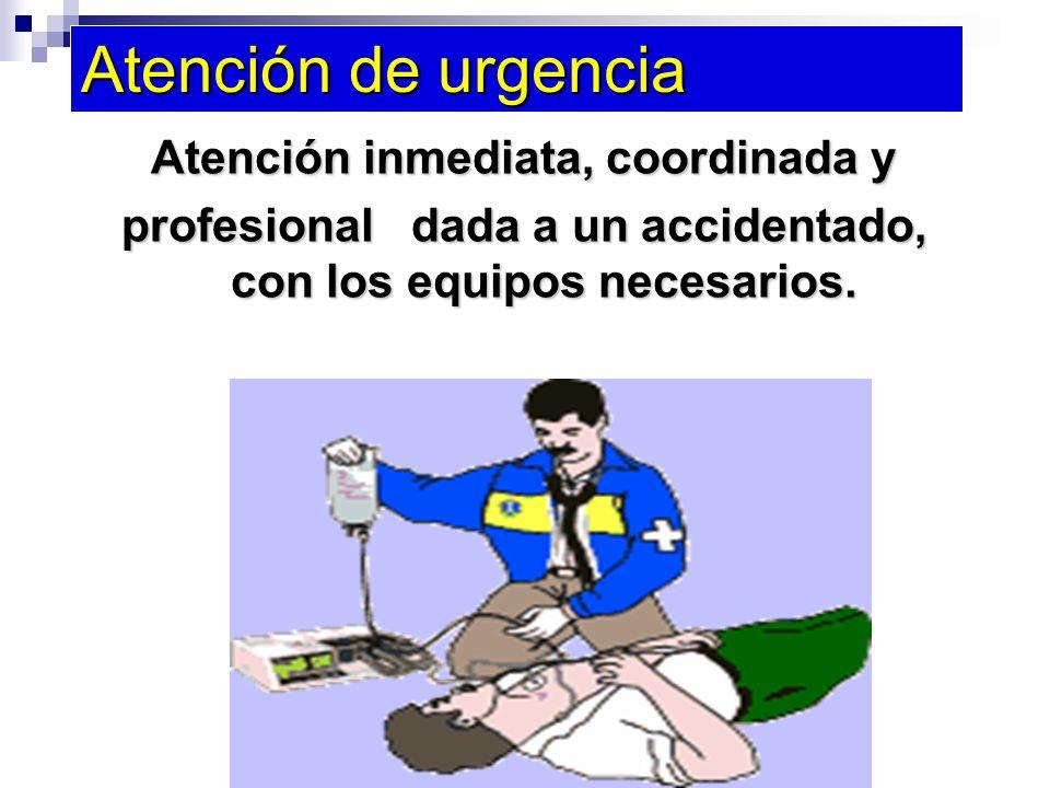 ¿Para qué damos atención de primeros auxilios.1. Salvar la vida del accidentado.