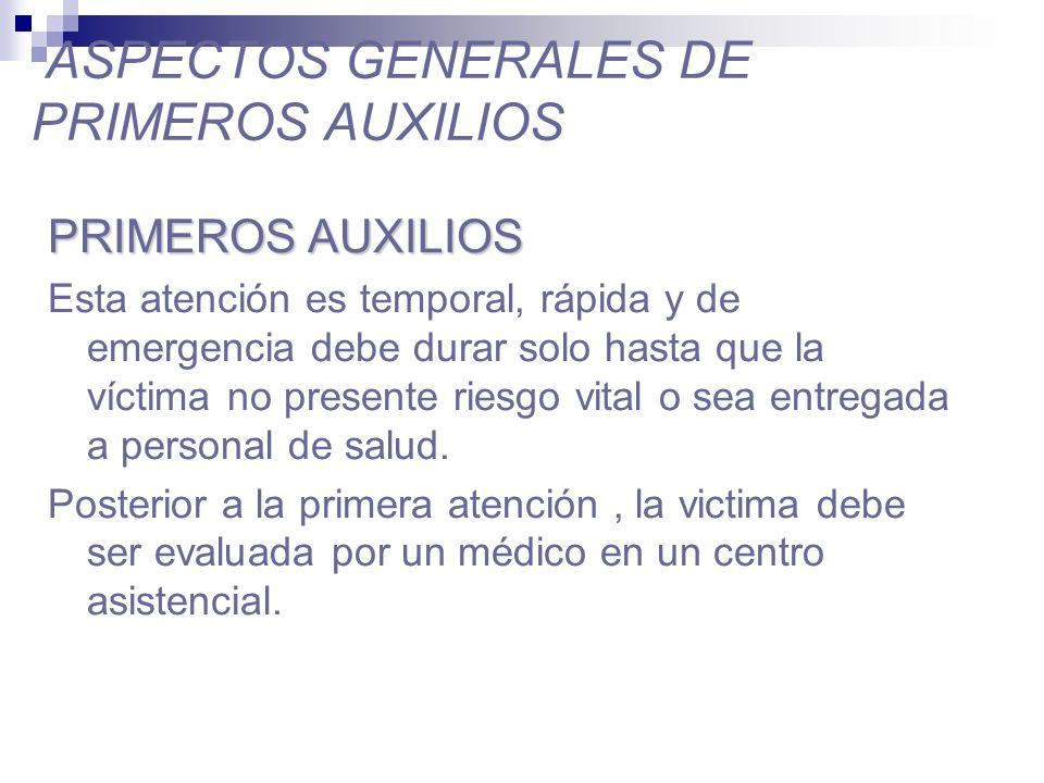 PROPÓSITO DEL ESTUDIO DE PRIMEROS AUXILIOS Capacitación del personal para que pueda actuar con conocimientos.