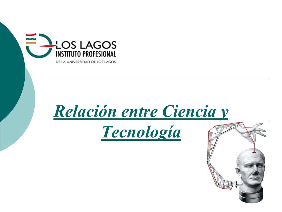 Relación entre Ciencia y Tecnología
