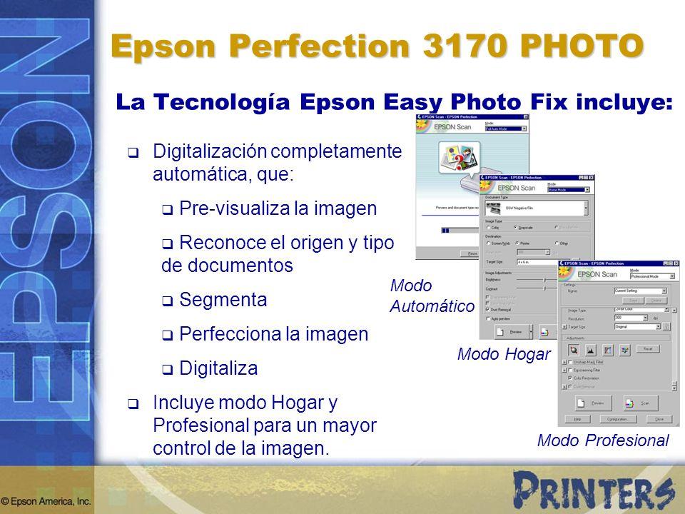 Digitalización completamente automática, que: Pre-visualiza la imagen Reconoce el origen y tipo de documentos Segmenta Perfecciona la imagen Digitaliz