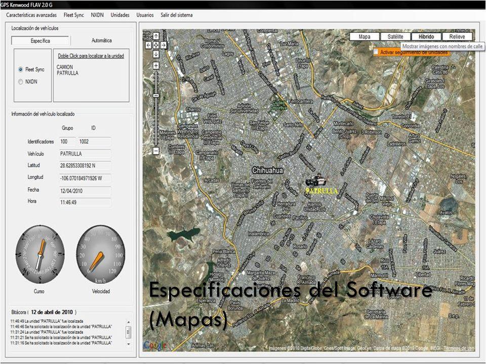 Localización de Vehículos (Específica)