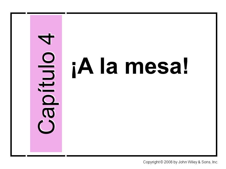 Así se forma 4: Interrogative words (summary) Copyright © 2008 by John Wiley & Sons, Inc.