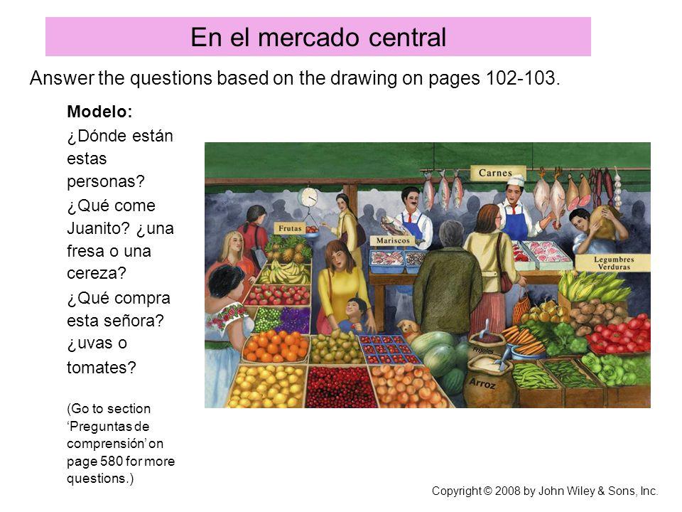 Así se dice: Las comidas y las bebidas Copyright © 2008 by John Wiley & Sons, Inc.