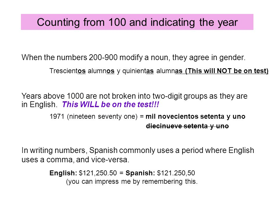 In writing numbers, Spanish commonly uses a period where English uses a comma, and vice-versa. English: $121,250.50 = Spanish: $121.250,50 (you can im