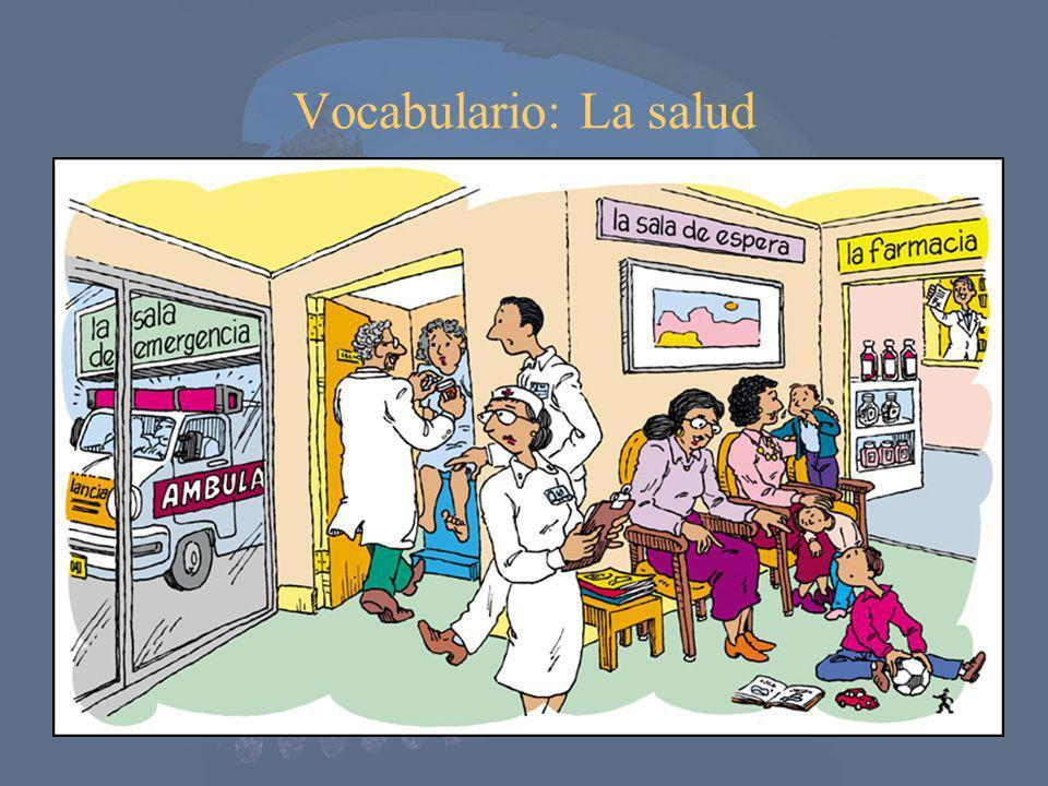 Vocabulario: La salud