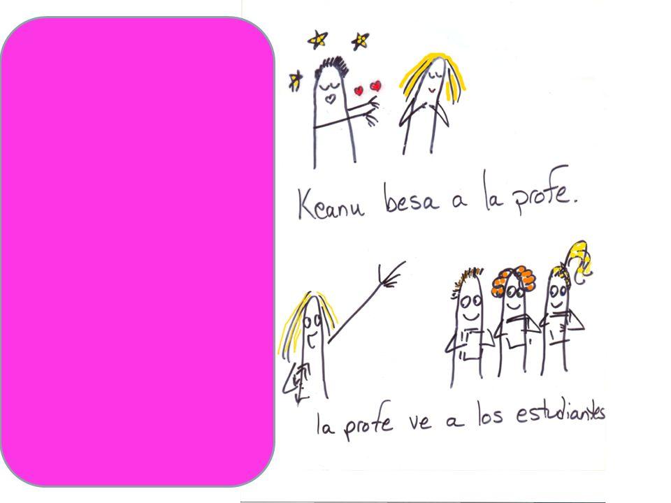 a Keanu la besa La profe los ve