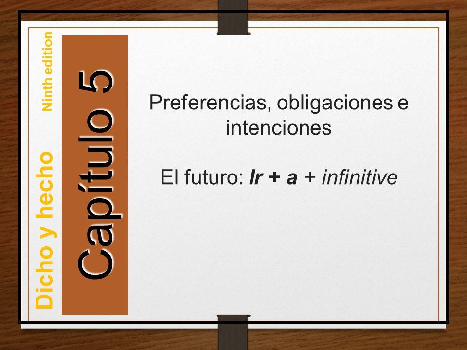 Así se dice: Preferencias, obligaciones e intenciones Copyright © 2012 by John Wiley & Sons, Inc.