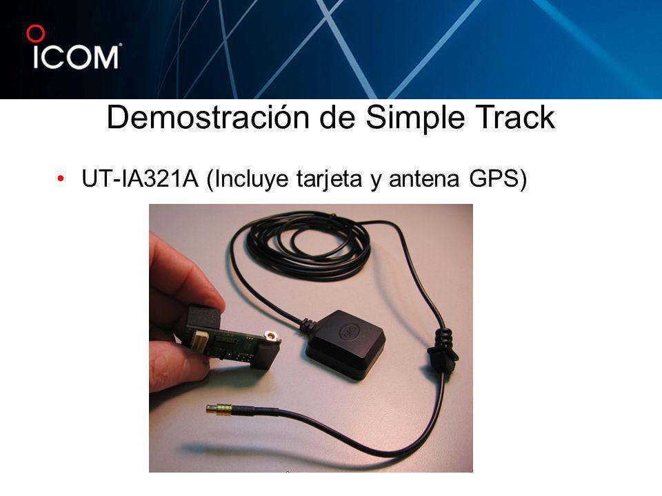 UT-IA321A (Incluye tarjeta y antena GPS)