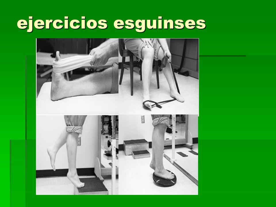 ejercicios esguinses
