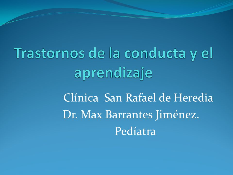 Clínica San Rafael de Heredia Dr. Max Barrantes Jiménez. Pedíatra
