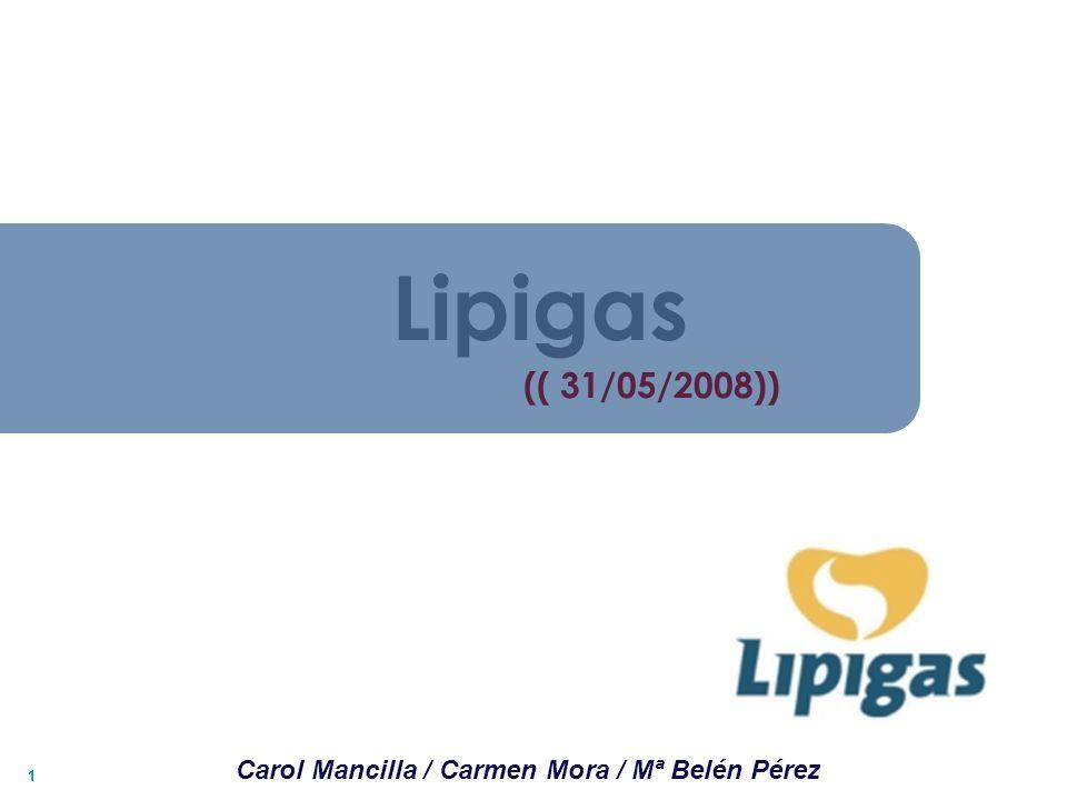 11 (( 31/05/2008)) Lipigas Carol Mancilla / Carmen Mora / Mª Belén Pérez