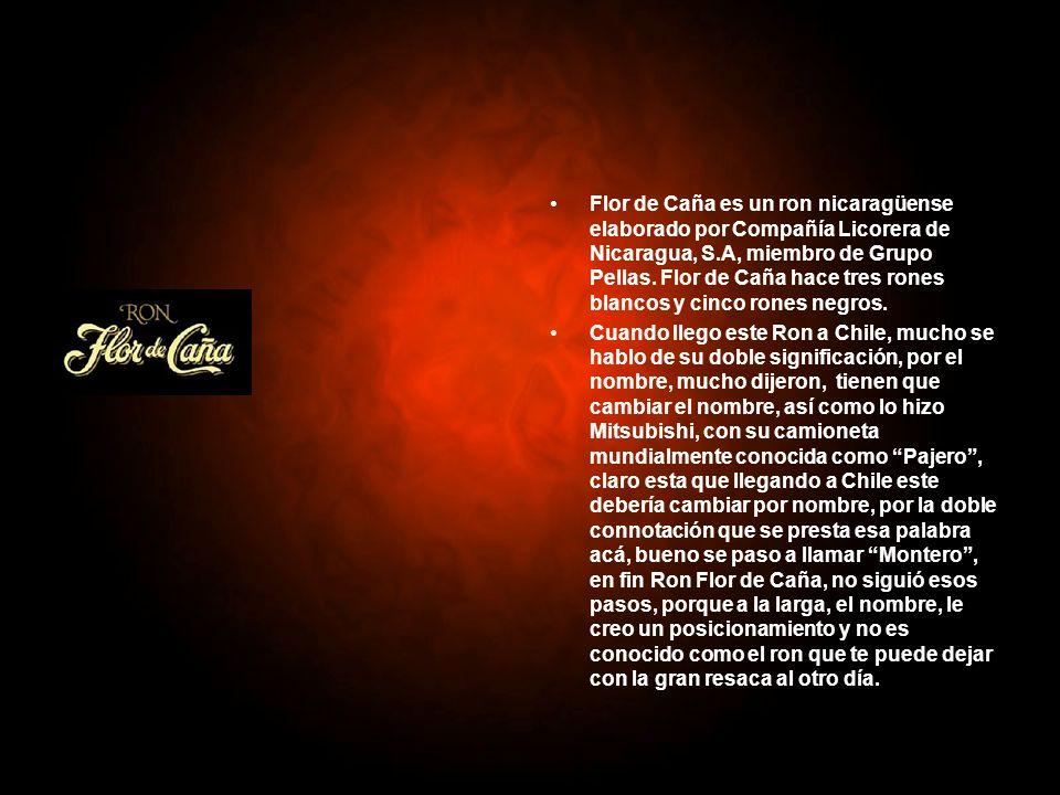 Flor de Caña es un ron nicaragüense elaborado por Compañía Licorera de Nicaragua, S.A, miembro de Grupo Pellas. Flor de Caña hace tres rones blancos y