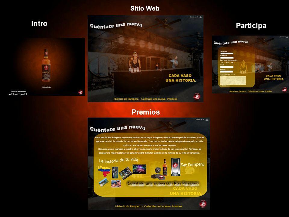 Sitio Web Intro Participa Premios