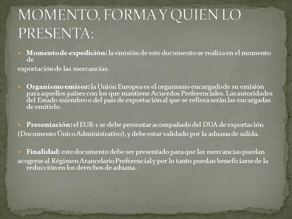 IDIOMA puede estar impreso en cualesquiera de los idiomas oficiales de las partes o en Inglés.