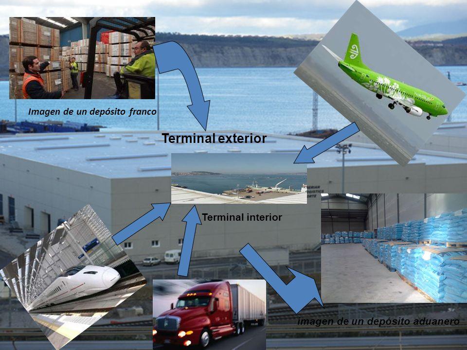 Imagen de un depósito franco imagen de un depósito aduanero Terminal exterior Terminal interior