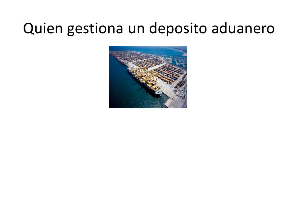 Depósito franco Depósitos Francos, son almacenes donde se guardan mercancías que están en curso, evitando así su introducción aduanera.