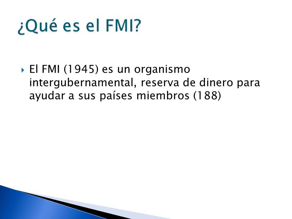 El Fondo Monetario Internacional (FMI) busca: Cooperación monetaria internacional.