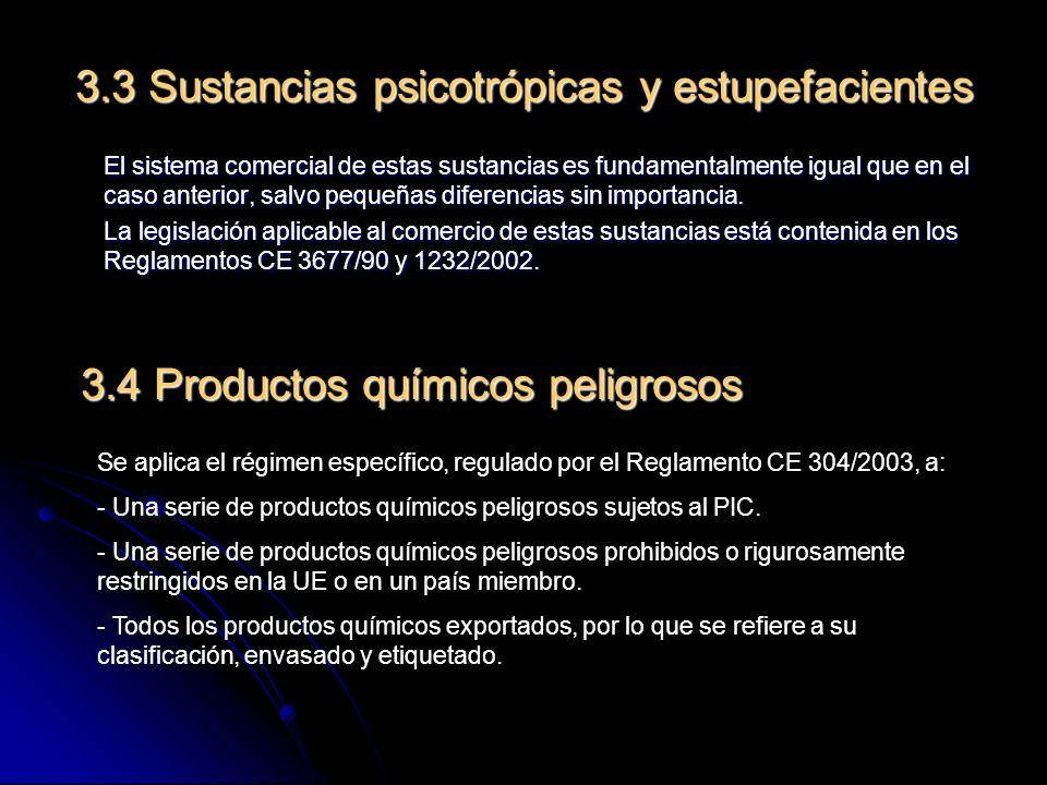 Las características definitorias de este régimen específico son: - Notificaciones de importación/exportación.