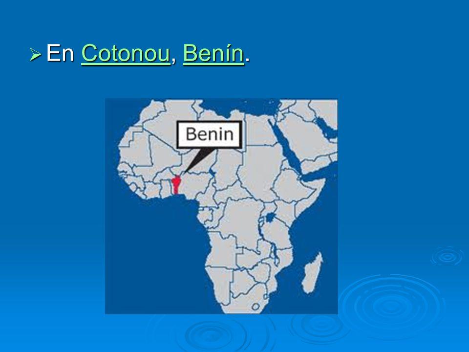 En Cotonou, Benín. En Cotonou, Benín.CotonouBenínCotonouBenín