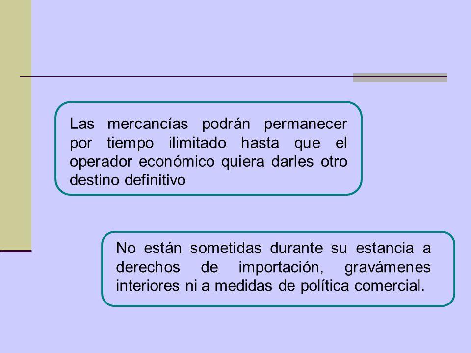 El marco normativo actual contempla por igual a las Zonas y a los Depósitos francos.