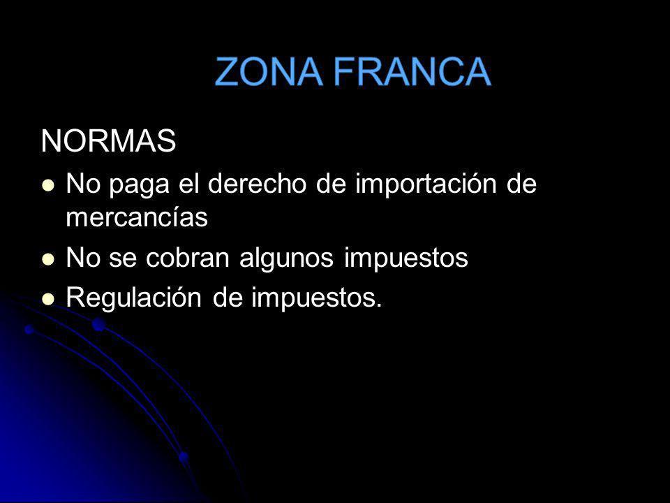 ZONA FRANCA TIEMPO: Ilimitado. Ilimitado.