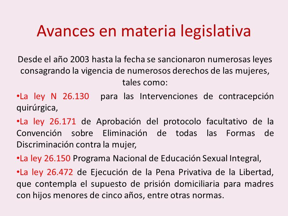 En Argentina desde el año 2010 rige la Ley 26.485 cuyo nombre completo es Ley de protección integral para prevenir, sancionar y erradicar la violencia contra las mujeres en los ámbitos en los que desarrollen sus relaciones interpersonales .