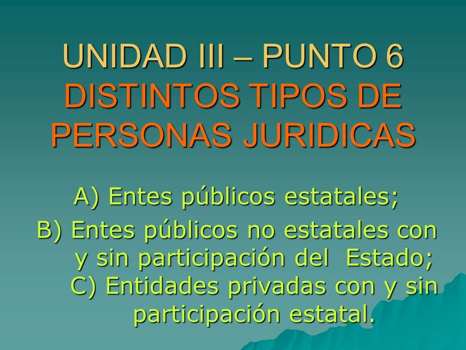 1.- ENTES PUBLICOS ESTATALES 1.1.- ESTADO o ADMINISTRACION CENTRAL 1.1.- ESTADO o ADMINISTRACION CENTRAL 1.2.- ENTIDADES AUTÁRQUICAS Y DEMAS ENTES DESCENTRALIZADOS 1.2.- ENTIDADES AUTÁRQUICAS Y DEMAS ENTES DESCENTRALIZADOS