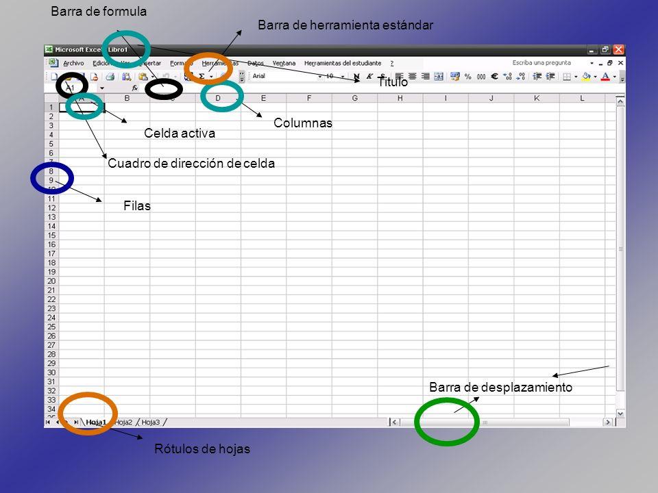OPERADORES DE COMPARACIÓN Además de los operadores matemáticos, la hoja de calculo EXCEL posee otro tipo de operadores: los operadores de comparación.