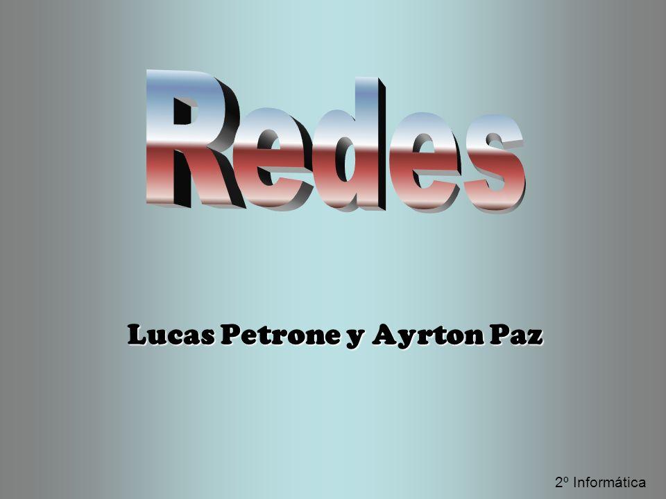 Lucas Petrone y Ayrton Paz 2º Informática