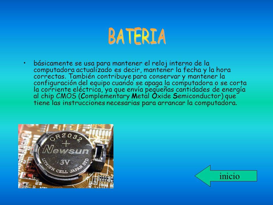 básicamente se usa para mantener el reloj interno de la computadora actualizado es decir, mantener la fecha y la hora correctas. También contribuye pa