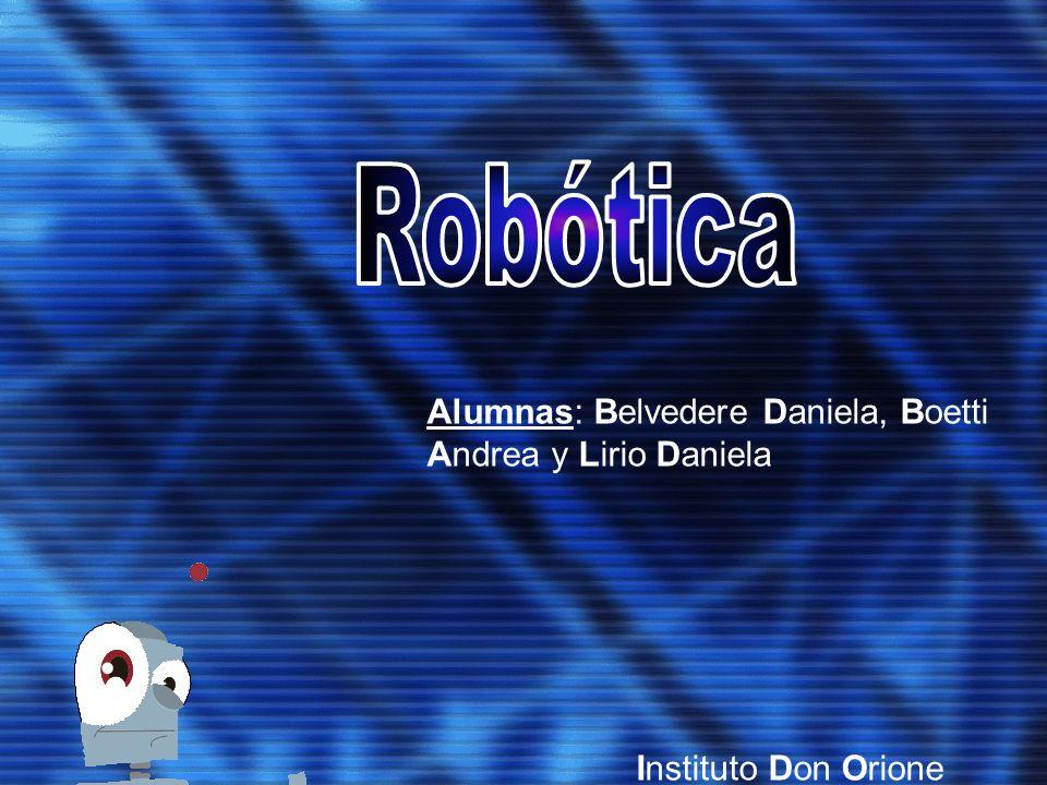 Alumnas: Belvedere Daniela, Boetti Andrea y Lirio Daniela Instituto Don Orione