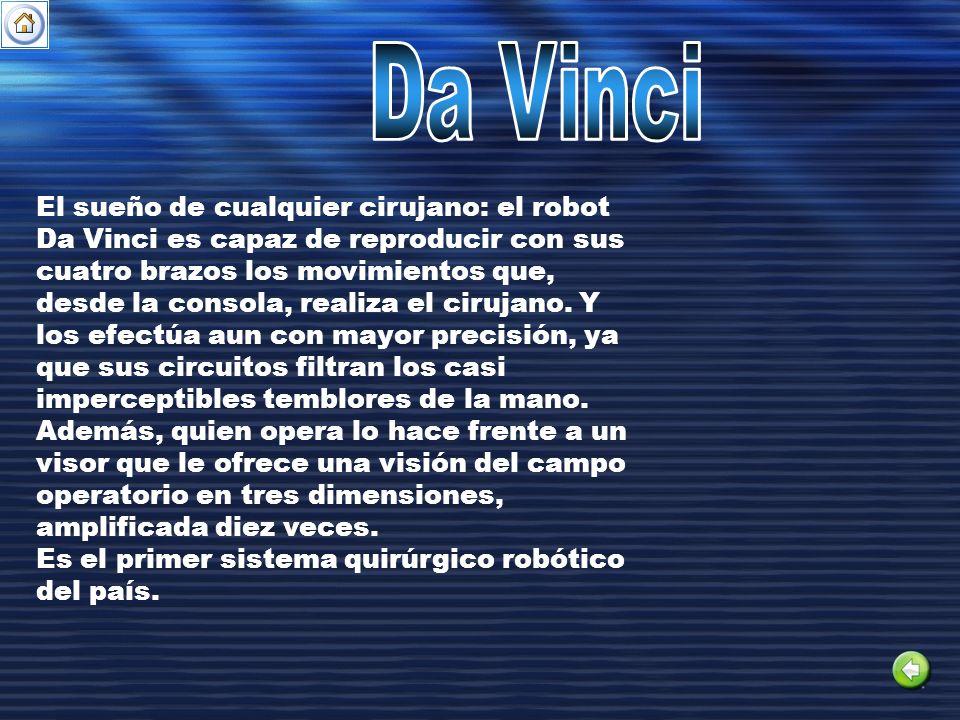 El sueño de cualquier cirujano: el robot Da Vinci es capaz de reproducir con sus cuatro brazos los movimientos que, desde la consola, realiza el ciruj